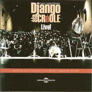CD cover Django a la Creole LIVE