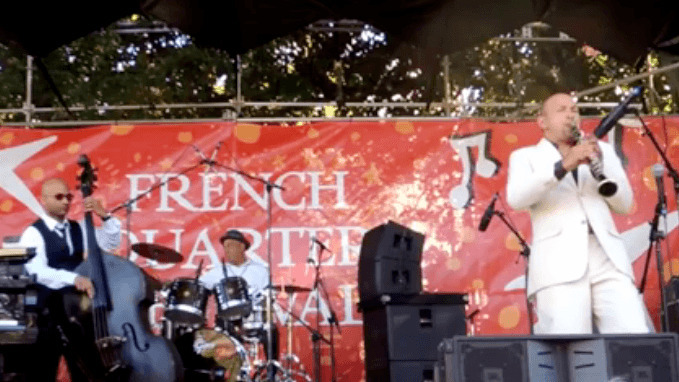 Evan Christopher 2017 French Quarter Festival